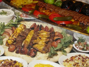 Irhal restaurants for Alborz persian cuisine
