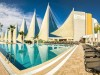 Weekend getaway at Adin Beach Hotel for $242